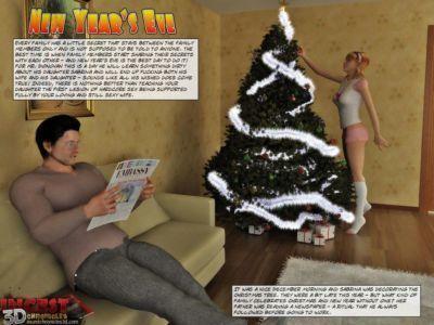 圣誕節 禮物 1 - 新的 年 前夕