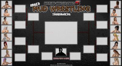 DOA Catfights Mud Wrestling