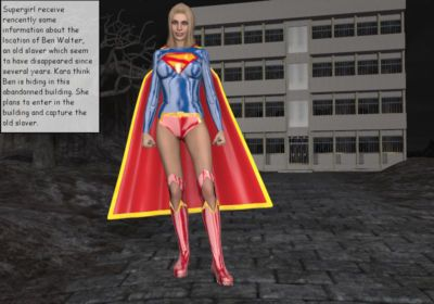 Back to the past Starring Supergirl