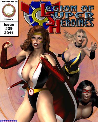 軍團 的 superheroines 29 - 46
