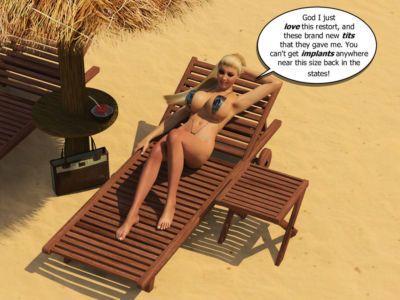 Beach Bikini Blow Up Doll