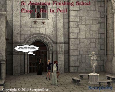 圣 阿納斯塔西婭 整理 學校 第一章 1: 藍光 在 危險