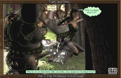 童話 結束 獸人 1 - 一部分 2