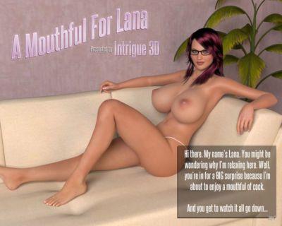 一个 满嘴 对于 拉娜