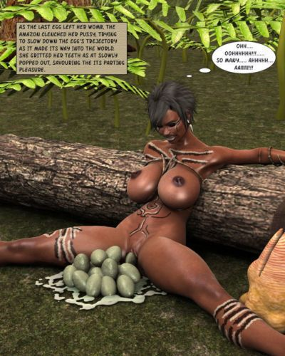 The Creature Creator - Jungle Amazons - part 3