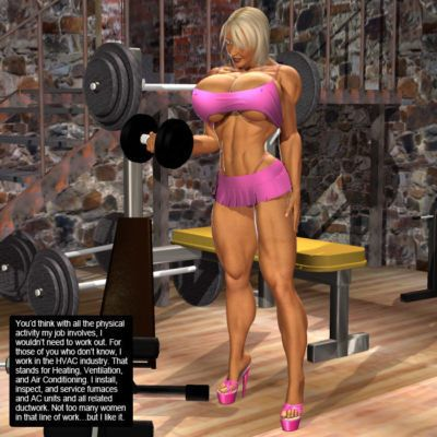 BXS 64 - Gym Dandy - Mimi- with Kim dropping by