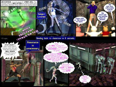 Joanna in Cyberhell - part 7
