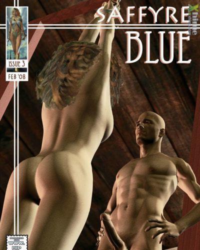 saffyre 藍色 3