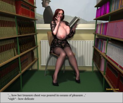 寶貝們 模型 nadia 在 的 圖書館 - 一部分 3