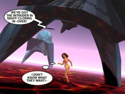 Mindy - 性愛 奴隸 上 火星 C - 一部分 4