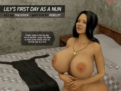 Lily's First Day As A Nun