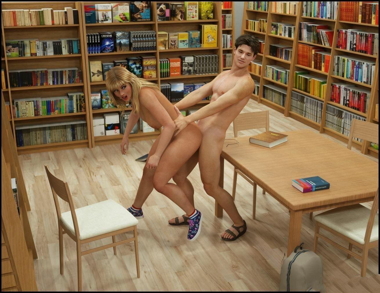 секс с библиотекаршей русский выписали