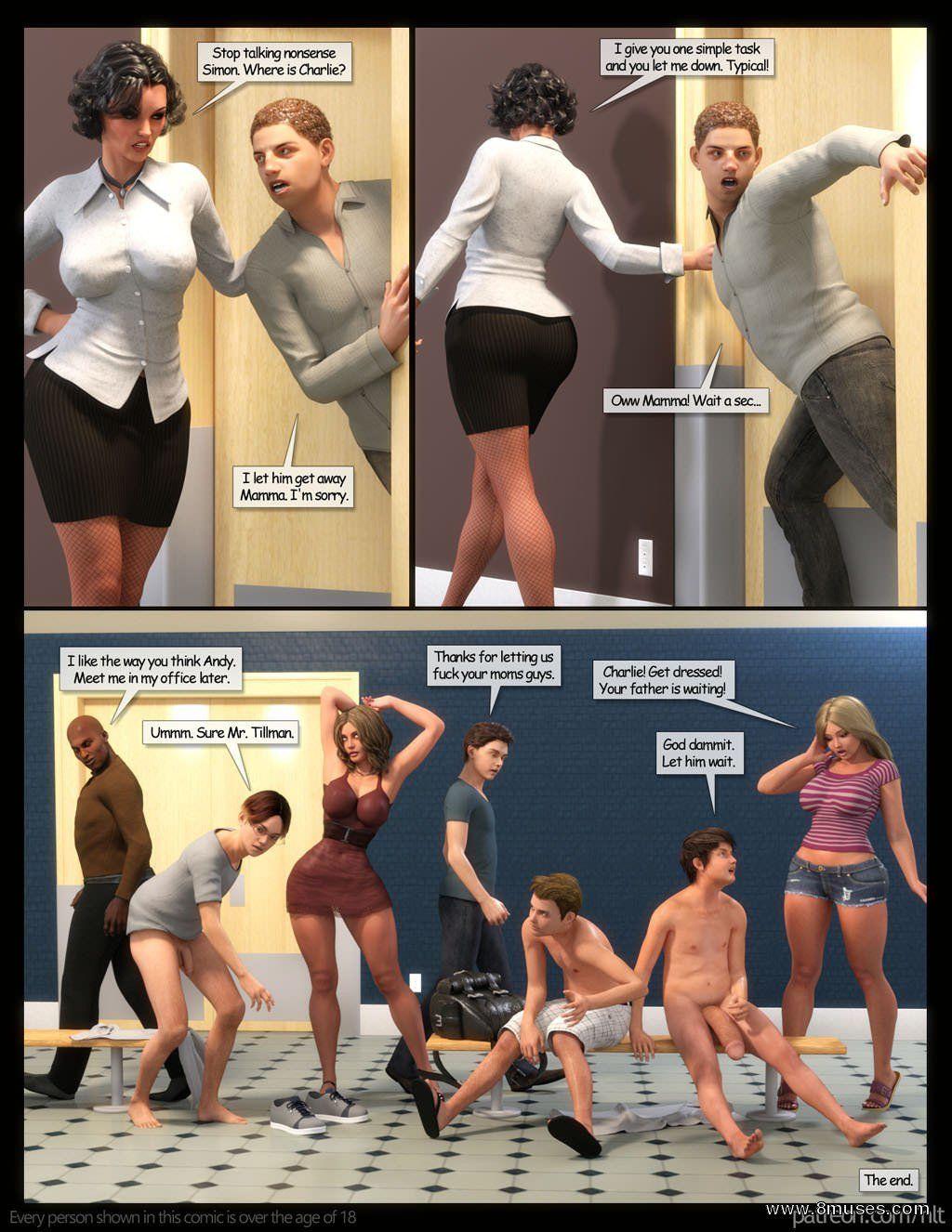 Mothers Gangbang - part 3