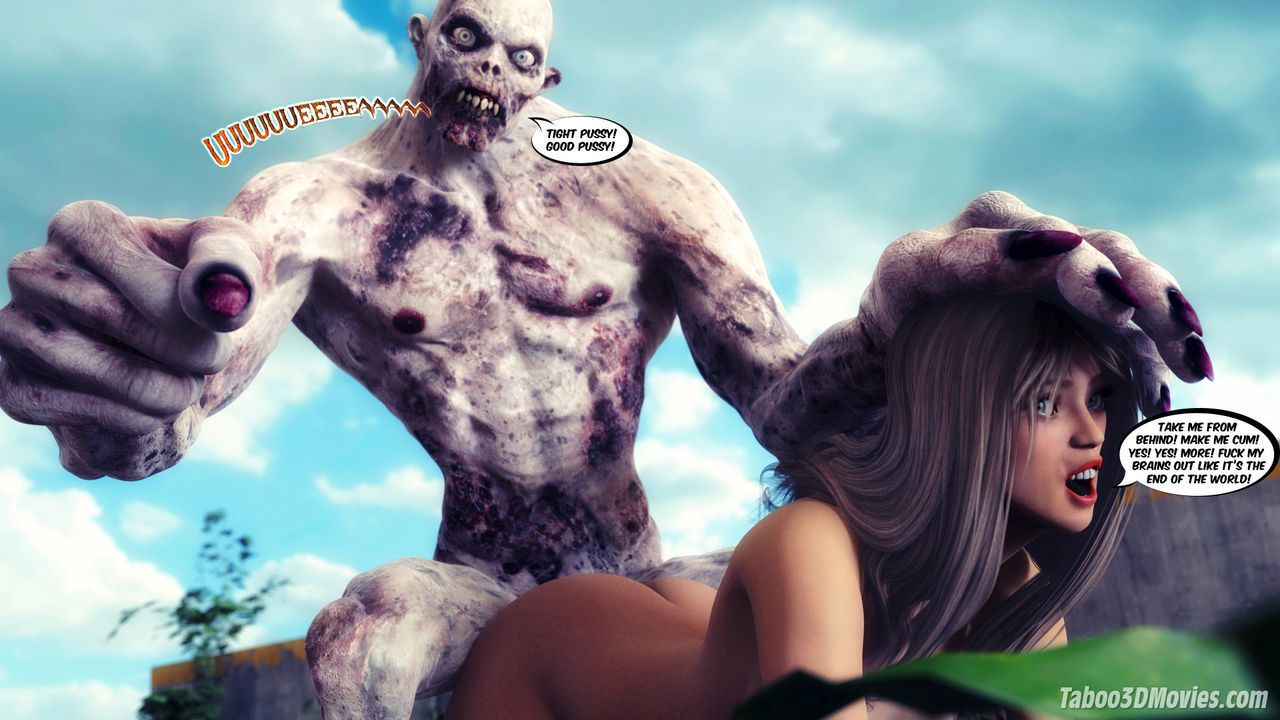 Sex zombie porn xxx natural boobs