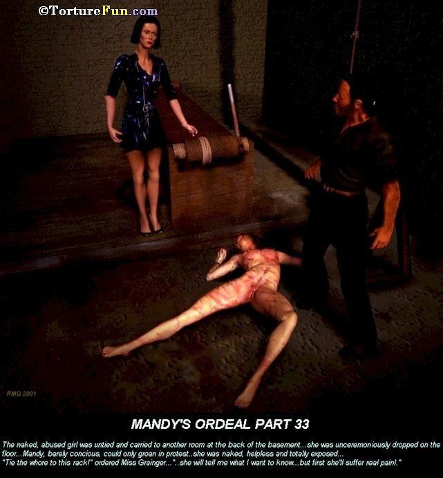 TortureFun - Mandys ordeal - part 2