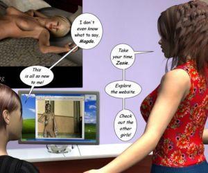 Zasie Internet Girl Ch. 3: Danger Zone - part 4