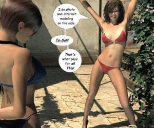 Zasie Internet Girl Ch. 1: Invitation - part 2