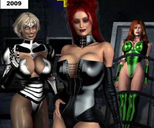Legion of Super Heroines 03 - The Dark Half