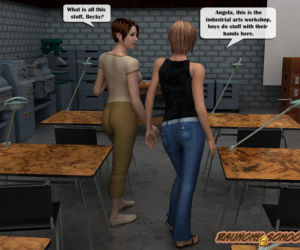 Raunchy School - A fucking machine workshop for two hotties