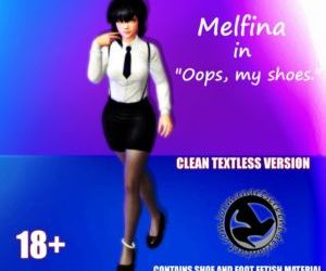 Melfina in Oops- my shoes. by Jormun - part 2