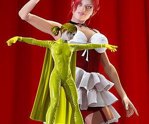 Champion Girl Vs Mary-Annette