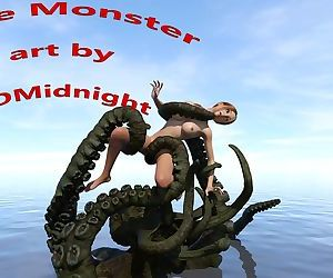 3DMidnight- Lake Monster