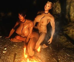 3D Skyrim Muscle Futa by FutanariPrisoner - part 5