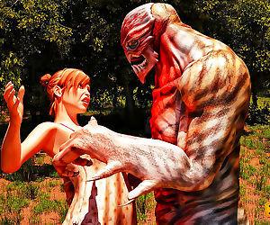 Monster fucks girl - part 231