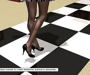 Cheating latina housewife 3d sex comics anime about voyeur..