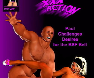 Entropy- Paul Challenges Desiree for the BSF Belt