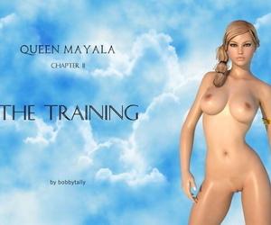 BobbyTally Queen Mayala Chapter 2 The Training English