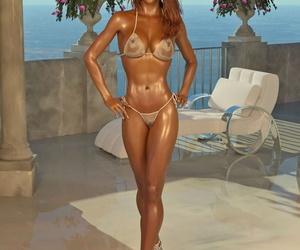 Sexy Wet Bikini