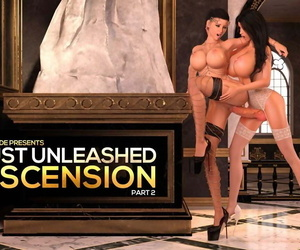 TheDude3DX Lust Unleashed: Ascension Part 2 with comic catt