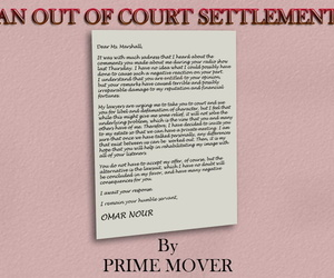 Prime Mover An Out Of Court Settlement