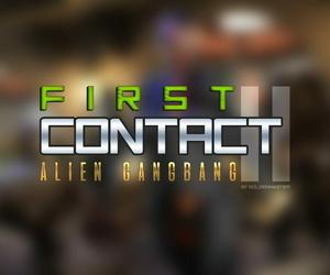 Goldenmaster First Contact - 11 alien gangbang