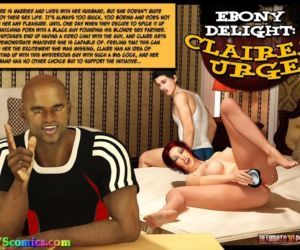 Ebony Delight- Claire's Urge