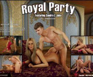 Blackadder- Royal Party