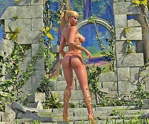 Nude Elf Princess