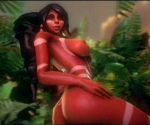 Nidalee 3D hentai game League of Legends