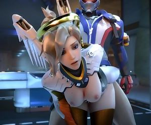 Overwatch - Mercy doggystyle