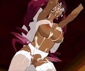 Hentai Teen Maid Ebony - 3DCG - 18 min
