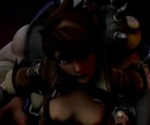 Tracer from Overwatch getting..