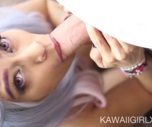 Blowjob From A Real Life Hentai..