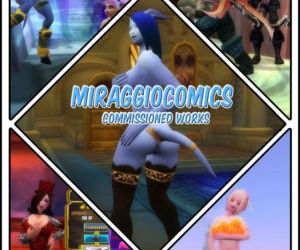 MiraggioComics - Commission 3D..