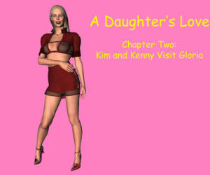Comics A Daughter's Love 2- 3D Incest, group  family