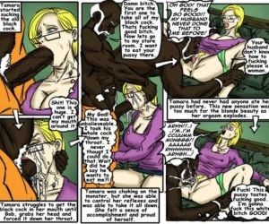 Comics Teach Tamara- illustrated interracial.., blowjob , forced  hardcore