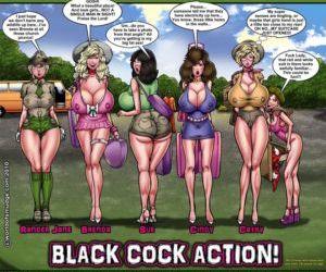 Comics Smudge- Black Cock Actions, blowjob , interracical  black cock