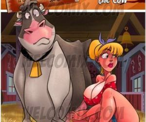 Comics Welcomix- Hillbilly Gang 7- Milking Cow, family  blowjob