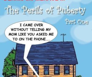 Comics Dennis The Menace- Perils of Puberty brother sister