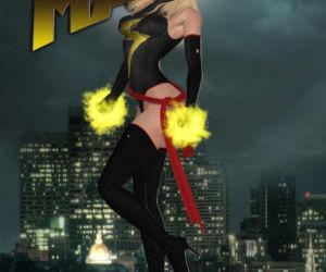 Comics Ms. Marvel vs Red Hulk- The Return of.., blowjob  cumshot
